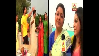 Watch: Family members of Bikele Bhorer Phool serial enjoying the Kite Festival During Bisw