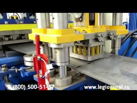 Мостовое барьерное ограждение (Видео с производства)