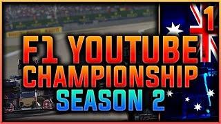 f1 2016  F1 Youtuber Championship Part 1: Melbourne