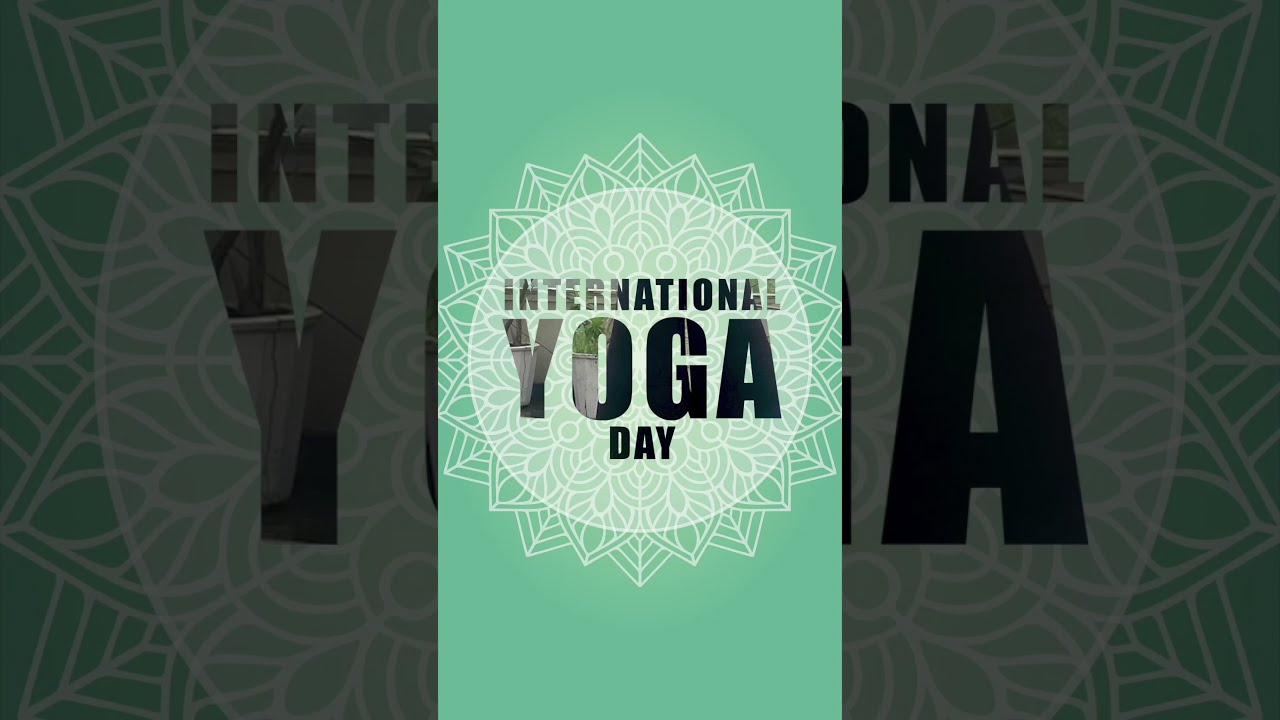 INTERNATIONAL YOGA DAY  I  Dr. Jai Madaan