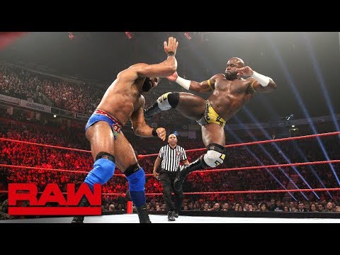 Apollo Crews vs. Jinder Mahal: Raw, Nov. 5, 2018