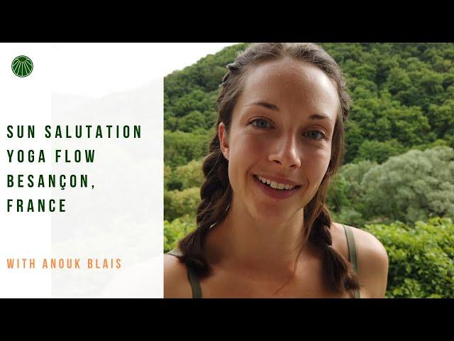 Sun Salutation Yoga Flow | Feel the #SunAbove series with Anouk Blais