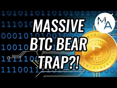MASSIVE Bear Trap For Bitcoin & Crypto Markets?! Cryptocurrencies Could See A Huge Swing Up Soon!