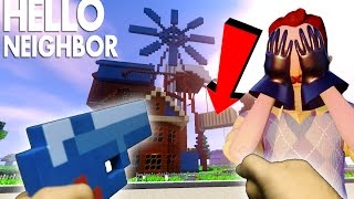 Realistic Hello Neighbor in Minecraft - The Neighbor has a BABY!!!