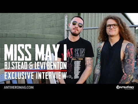 Interview with BJ Stead & Levi Benton of Miss May I