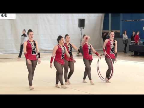 Gimnastika erritmikoa Bergaran (II. fasea)