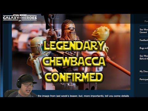 Legendary Event Confirmed Trilogy Chewbacca - Star Wars: Galaxy Of Heroes - SWGOH