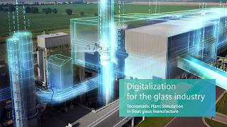 Tecnomatix Plant Simulation in float glass manufacturing industry