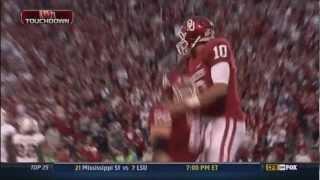 Blake Bell 55 Yard TD Vs Baylor (2012 HD)