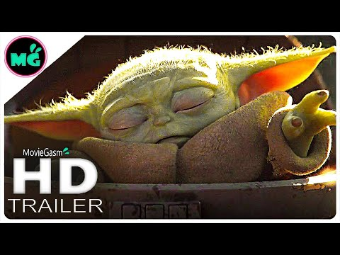 THE MANDALORIAN Baby Yoda Trailer (2019) Disney+ Scene