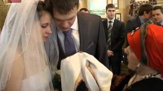 В Валдае сыграли свадьбу в