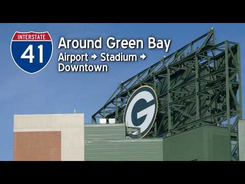 A Drive around Green Bay, Wisconsin