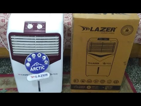 Lazer Arctic 22 Litre Air Cooler : Positive and Negative Point (Hindi) (Live Video)