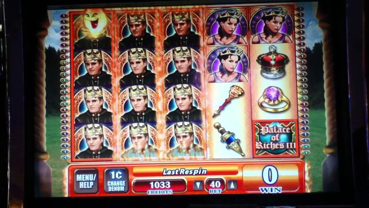Palace Of Riches Slot Machine