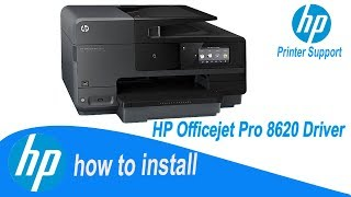 HP Officejet  Pro 8620 Driver , Full installation Guide