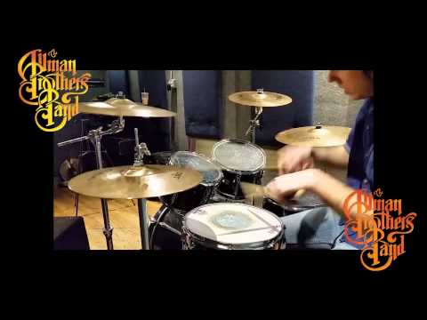 The Allman Brothers Band - Melissa Drum Cover 3-18-15
