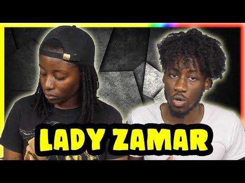LADY ZAMAR - COLLIDE (REACTION)