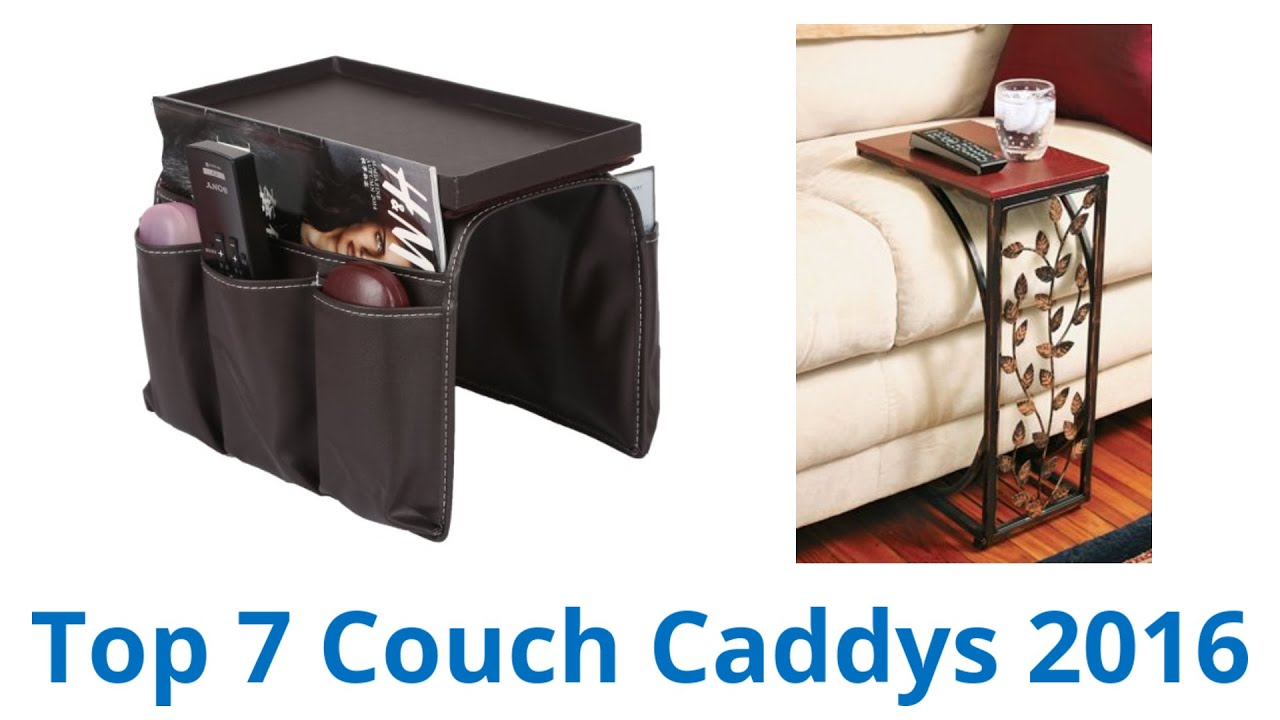 Sofa Arm Organizer Tray 7 Best Couch Caddys 2016