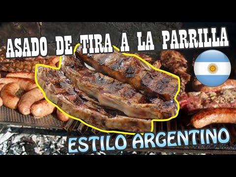 Asado de Tira (Parrilla Argentina)