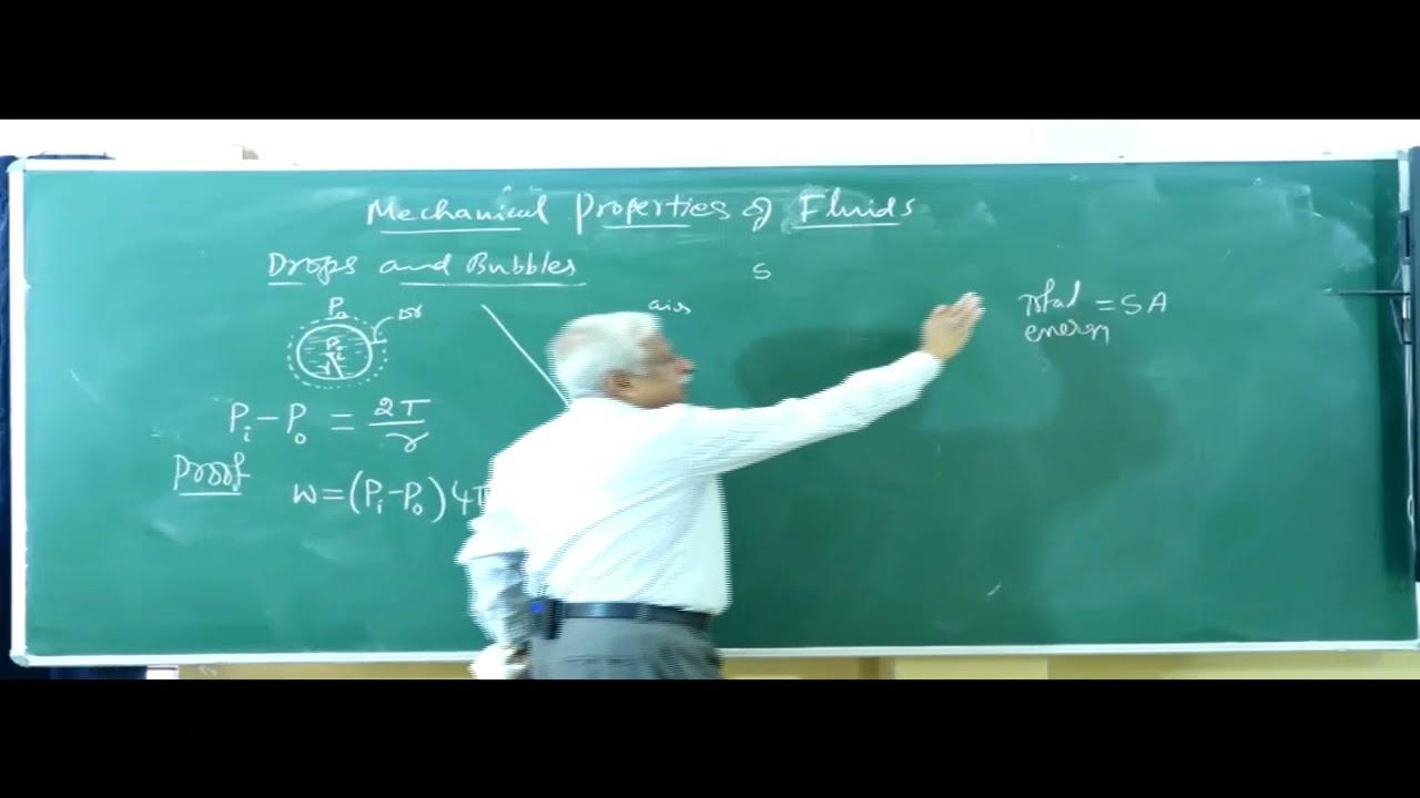I PUC | PHYSICS | Mechanical properties of fluids  - 4