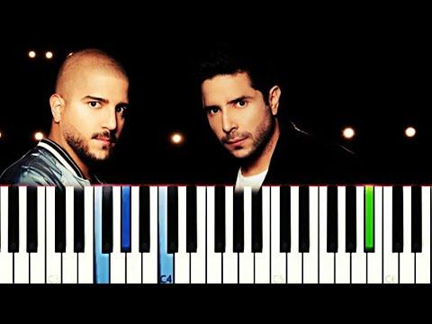 Cali y El Dandee - Ay Corazón   Piano Tutorial Cover
