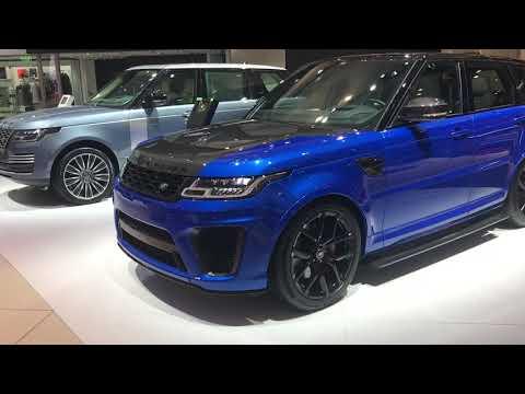 Range Rover SVR 2018 / Dubai Motor Show 2017