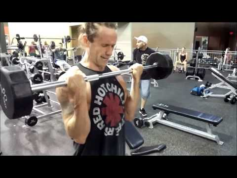 Bench Press Personal Record Caught on Video: 225