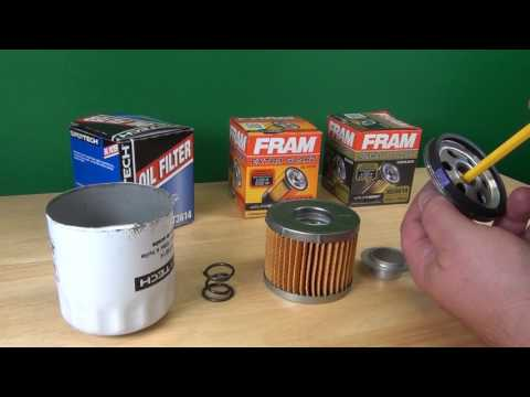 Oil Filter - How it works