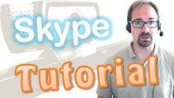Videochat mit Skype [Tutorial, Equipment, Einrichtung, Test im WLAN]