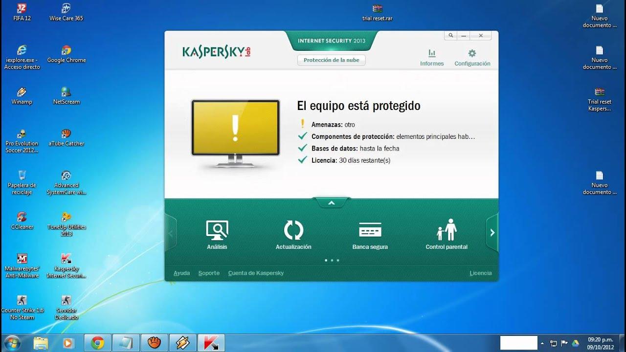 Download free software Kaspersky Internet Security Trial