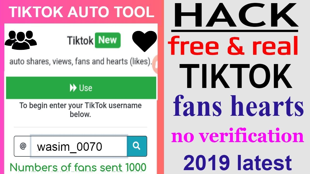 how to increase real tiktok fans likes|free tiktok fans|get nore fans on  tiktok\latest 2019