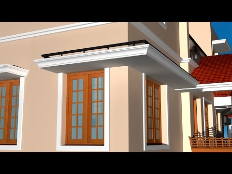 CREATING SUN SHADES WITH DETAILING | AUTOCAD 3D SUN SHADE