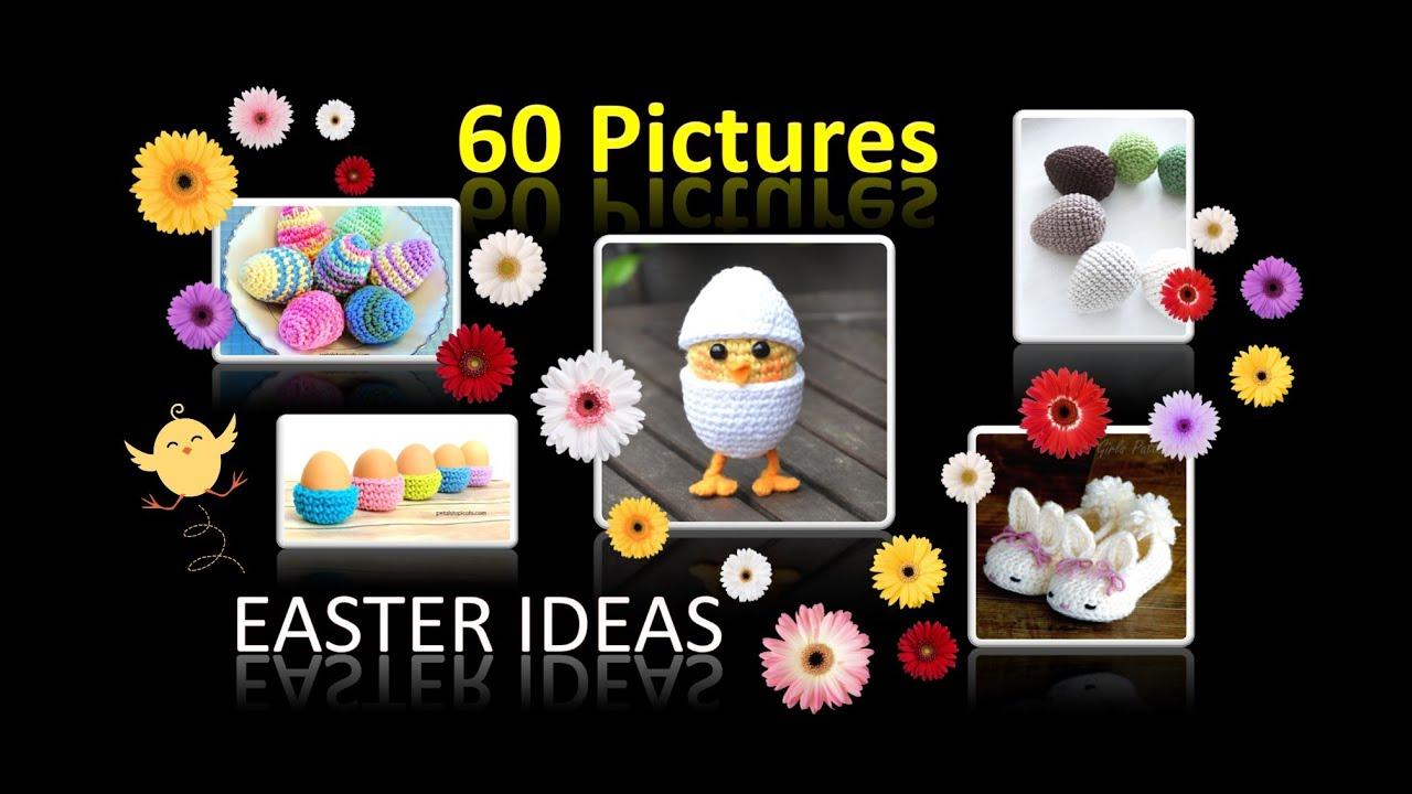 Häkeln Stricken 60 Ideen Für Ostern Deko Wie Ostereier