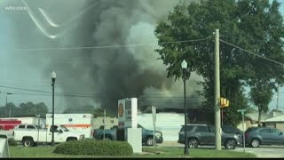 Structure Fire in West Columbia