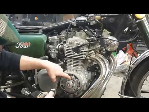 1973 Honda CB350F Electronic Ignition Upgrade