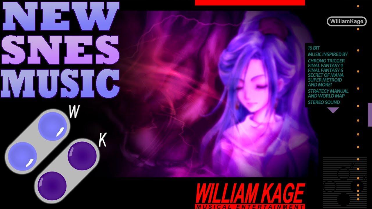 William Kage - Dream Devourer Theme (New SNES Music) [Chrono