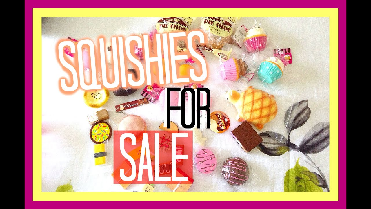 Squishies for sale - Cheap Squishies For Sale Update