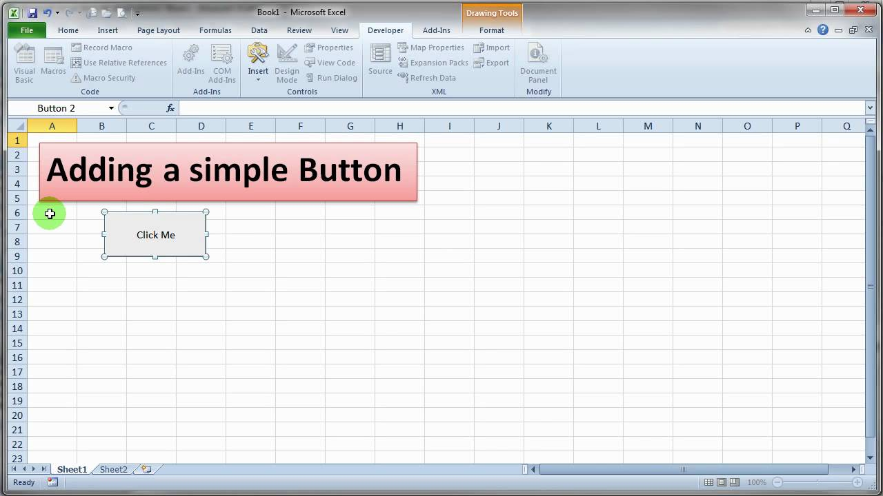 How to make a budget in excel macro enable