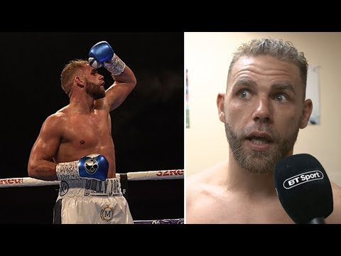 """Billy Joe Saunders On Showboating: """"I Wanted To Do Something Else, But Ben Would Have Told Me Off!"""""""