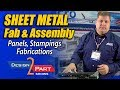 Sheet metal fabrications, laminate panels and metal stampings - ACRO