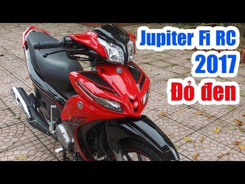 Yamaha Jupiter Fi RC 2017 Đỏ đen ▶ Đánh giá thực tế thay đổi