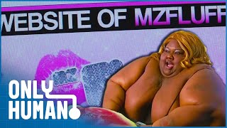 Mz Fluff Makes Money from Ripping Her Clothes | Only Human