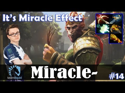 Miracle - Monkey King MID | It's Miracle Effect | Dota 2 Pro MMR Gameplay #14 thumbnail