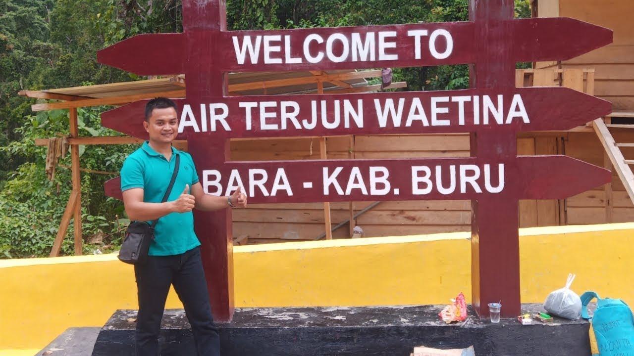 Air Terjun Waetina Bara Kab Buru Namlea Keindahan Alam Kabupaten Buru Air Terjun Waetina Bara Youtube