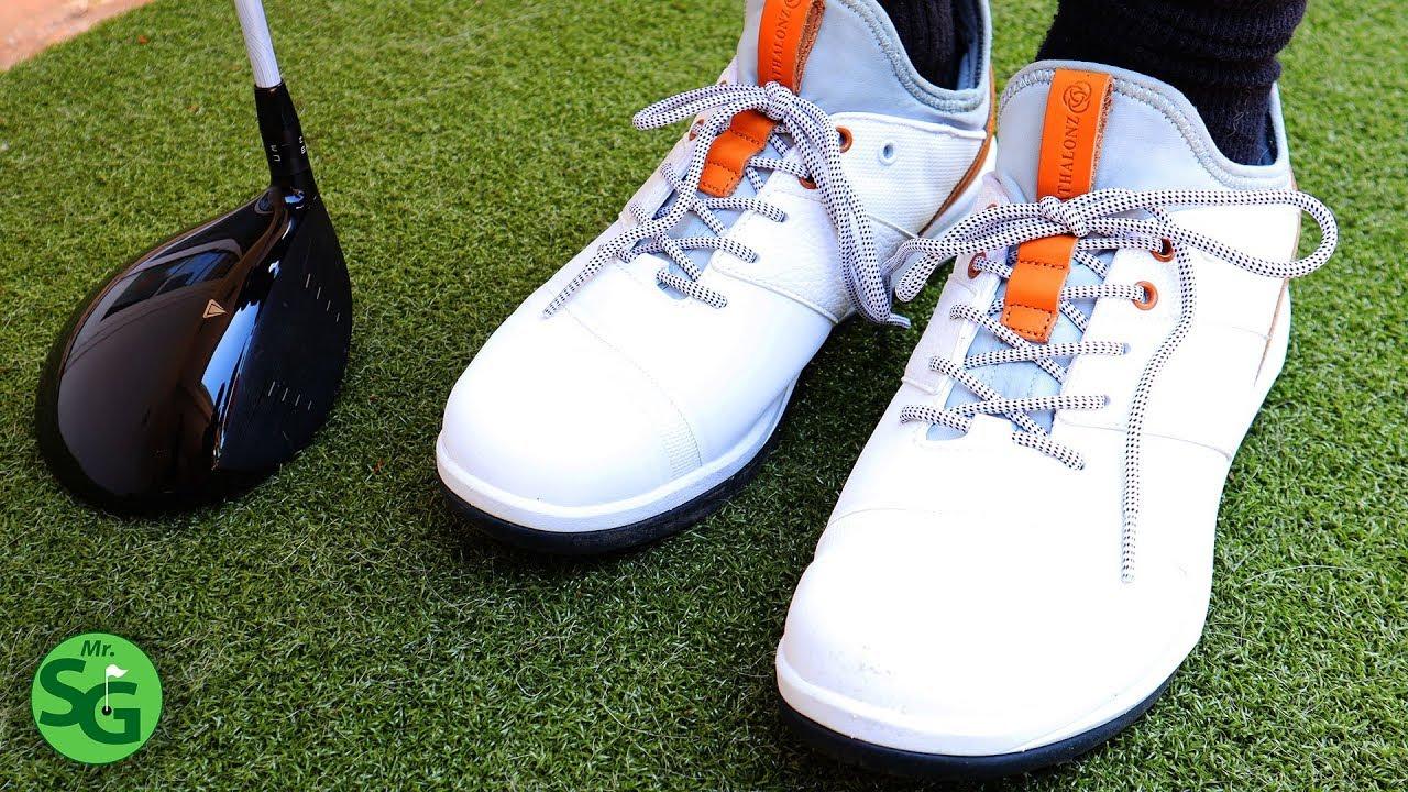 mizuno golf shoes spikes youtube