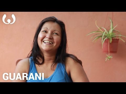 WIKITONGUES: María speaking Guarani