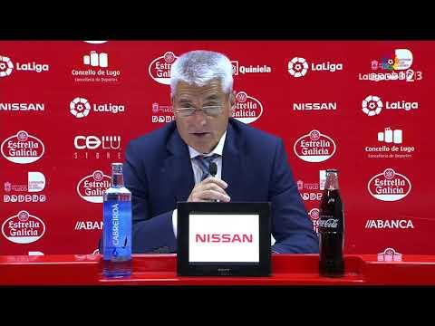 Rueda de prensa de Fabri González tras el CD Lugo vs Lorca FC (1-1)