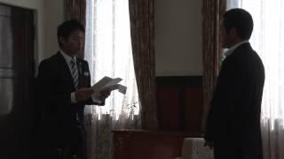愛媛トヨペット株式会社の横田常務取締役と2015年ミス・インターナショ...