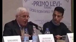 PRIMO LEVI (1 di 5): LO RICORDA UN SUO COLLABORATORE