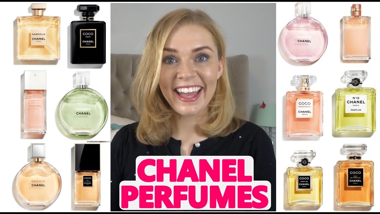 Every Chanel Perfume The Chanel Perfume Range Soki London Youtube